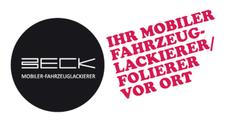 Christian Beck - Ihr Mobiler Fahrzeuglackierer vor Ort